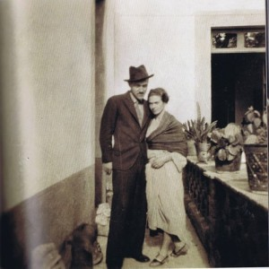 William Spratling and Frida Kahlo